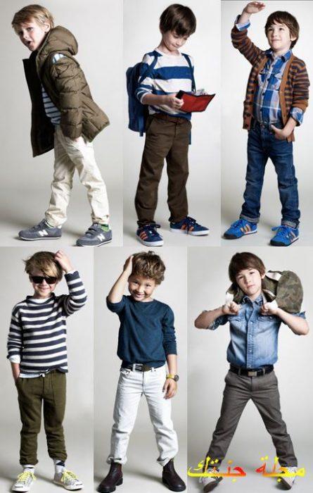 ملابس اولاد شتوية 2019