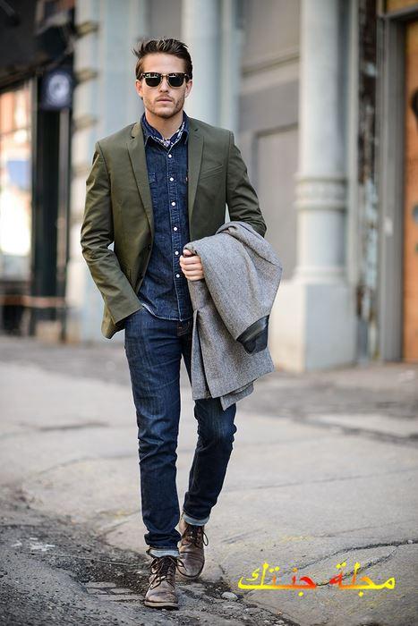 ملابس كلاسيكية للرجال شيك وجديدة