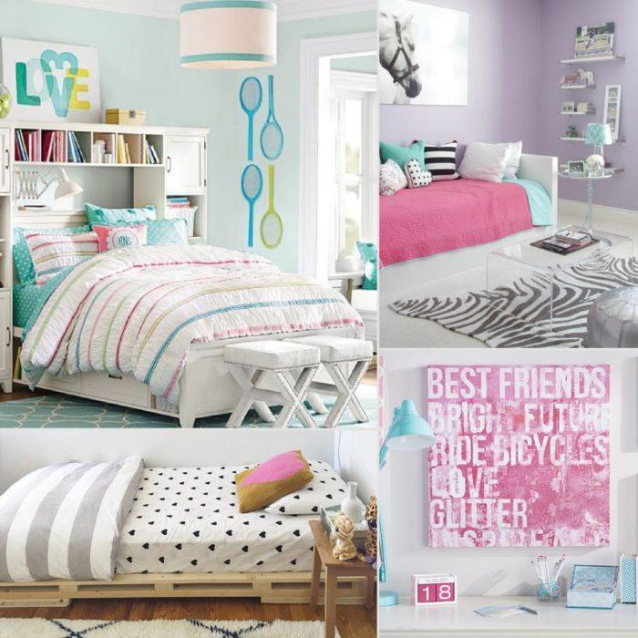 من أجمل وأشك غرف النوم البناتي