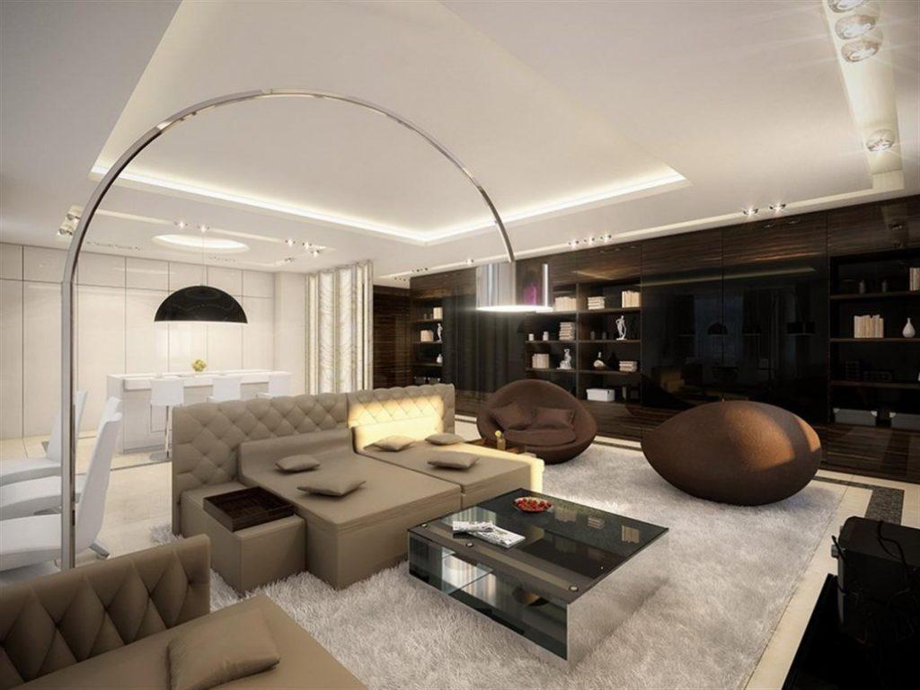 غرفة معيشة جديدة جداً لعام 2018