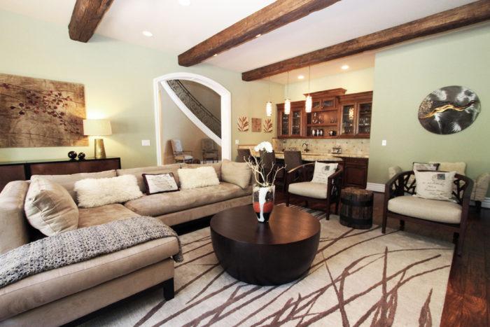 من أشيك وأجمل غرف المعيشة وتتميز بالرقي والهدوء