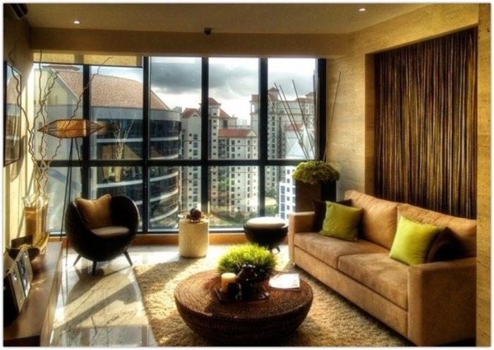 تتميز هذه الغرفة بانها ذات تصميم فريد سواء فى تصميمها أو أثاثها