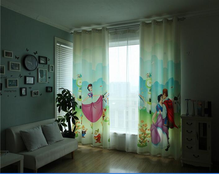 ستارة ثري دي برسومات سنو وايت وحاجبة للضوء ومناسبة لغرف البنات