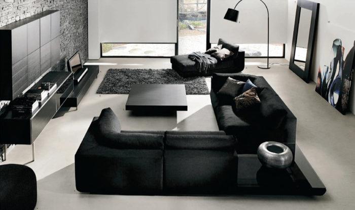 غرفة معيشة بتصميمات رائعة وجديدة