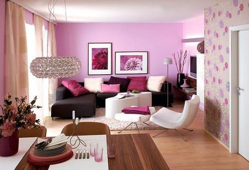 غرفة معيشة رائعة جداً وجميلة