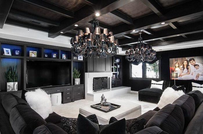 غرفة معيشة فخمة جداً ورائعة