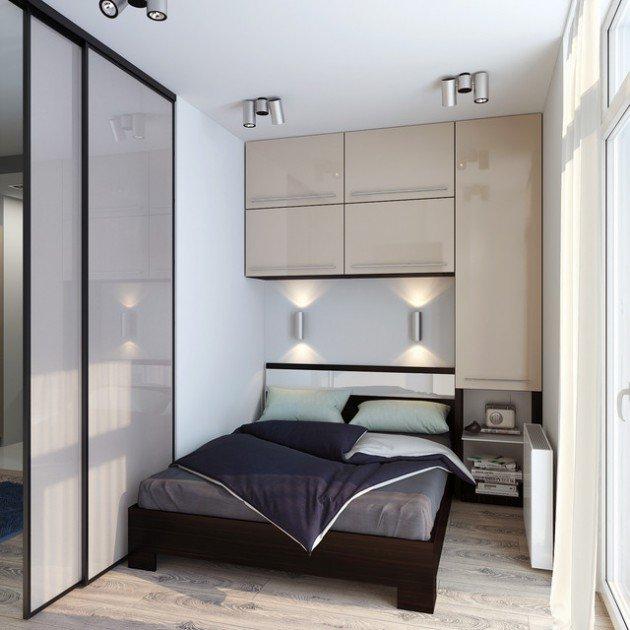 غرفة نوم بتصميم رائع جداً وجميل