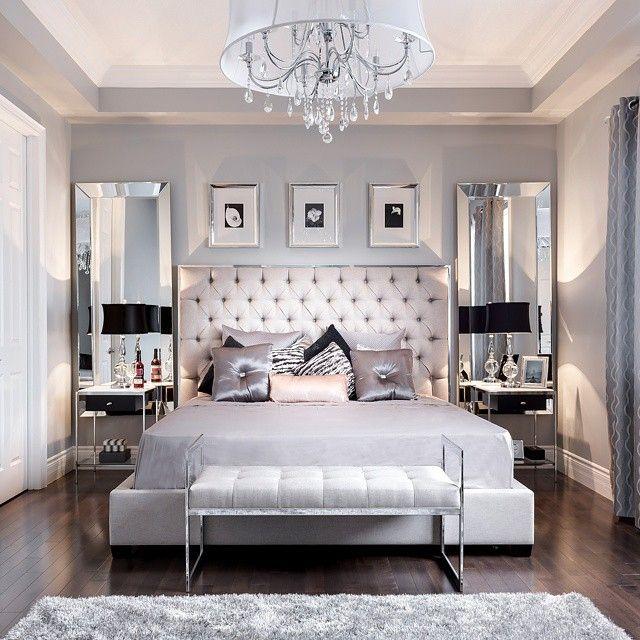 غرفة نوم بتصميم راقي جداً وفخم