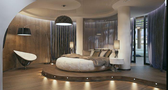 غرفة نوم بتصميم فخم جداً ورائع