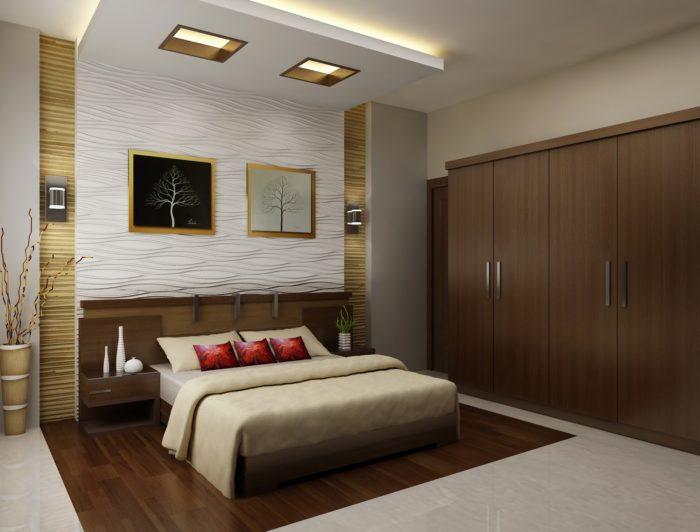 غرفة نوم بتصميم ناعم وبسيط يناسب الذوق الراقي