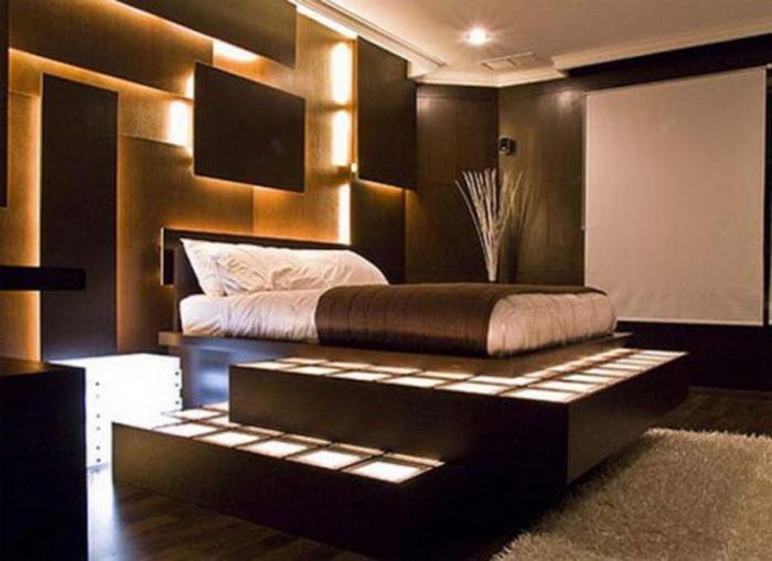 غرفة نوم ثري دي بتصميم جديد 2018