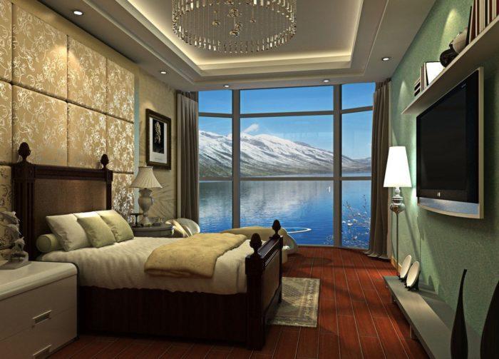 غرفة نوم ثري دي رائعة وعصرية جداً