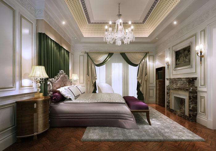 غرفة نوم ثري دي فخمة جداً وروعة