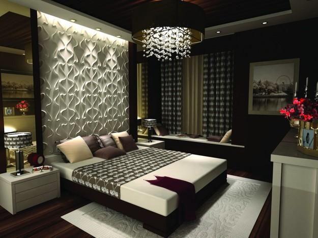 غرفة نوم ثري دي فى منتهى الجمال والشياكة