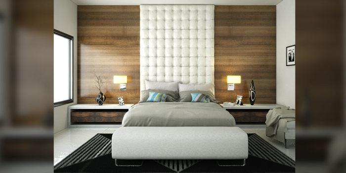 غرفة نوم جديدة و عصرية