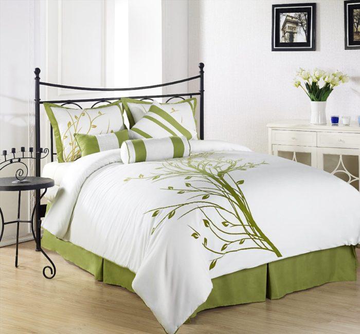Bedroom Ideas Sage Green Walls Bedroom Cabinet Designs Philippines Bedroom Cupboards With Mirror Designs Door For Bedroom: غرف نوم حديد رائعة وجميلة جداً