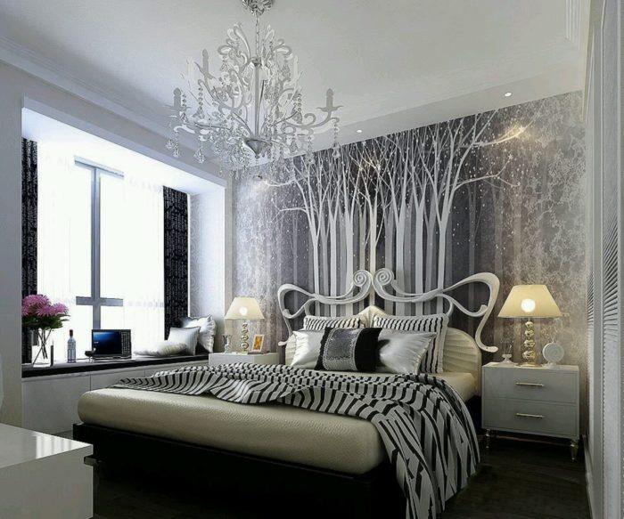 غرفة نوم فخمة جداً و جميلة بتصميم قمة فى الشياكة