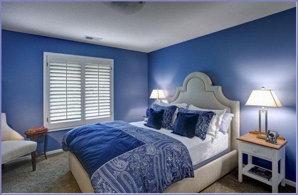غرفة نوم ناعمة وبسيطة تاسب الذوق الهادئ