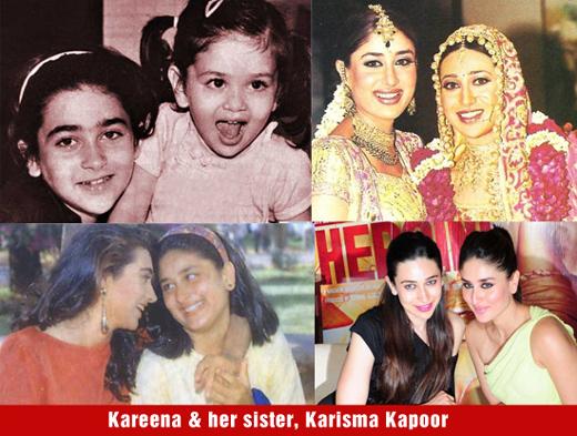 صورة تجمع بين النجمة كارينا كابور واختها كريشما كابور