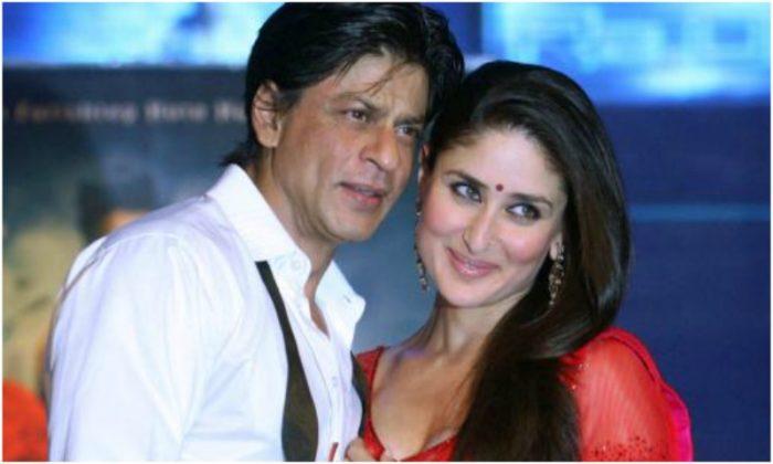 صورة شاه روخ خان مع النجمة كارينا كابور
