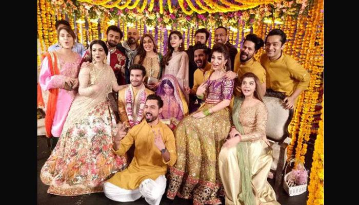 حفل زفاف فيروز خان وزوجته اليزا فاطمة