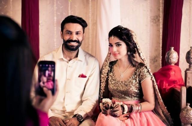 صورة رائعة من حفل الزفاف