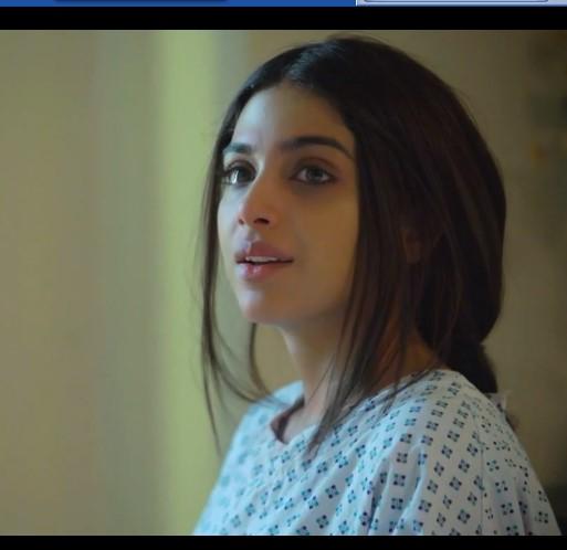 صورة لباكيزا من داخل المستشفي