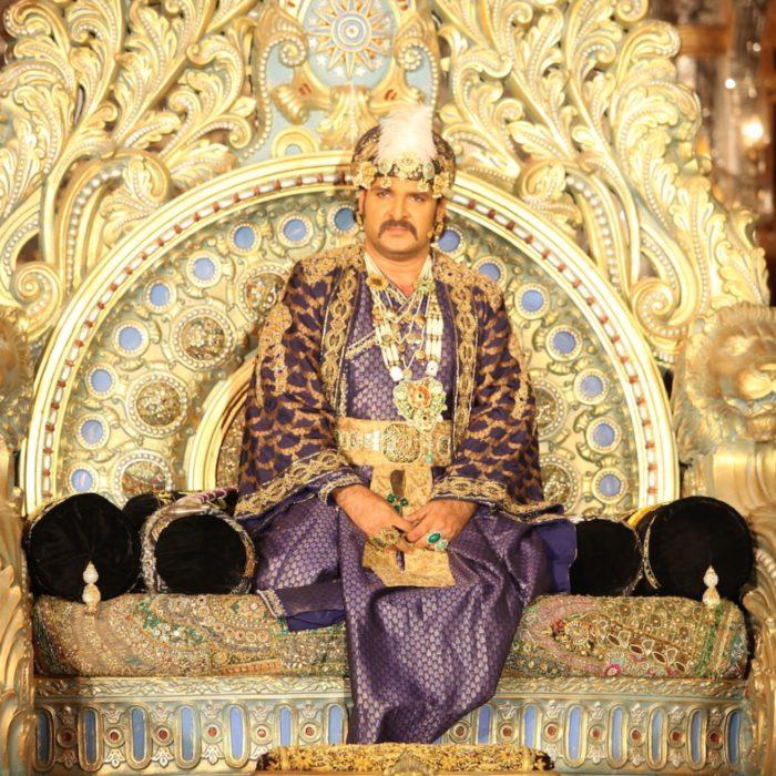 الملك اكبر والد الامير سليم