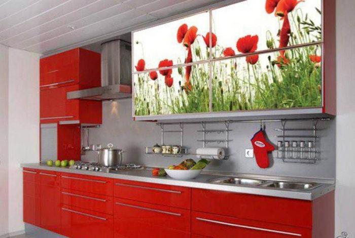 مطبخ الوميتال برسومات مبهجة وجميلة