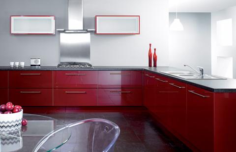 مطبخ بتصميم انيق مناسب للمنازل العصرية