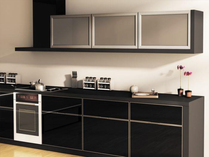 مطبخ بتصميم راقي جداً وشيك