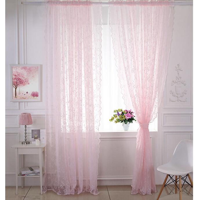 ستارة دانتيل باللون الوردي كلاسيكية جميلة جداً
