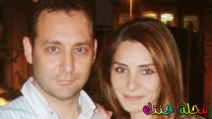 مع زوجها مراد ايسان