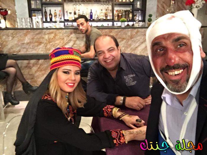 محمد حسني ورانيا فريد شوقي من الكواليس