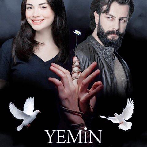 قصة مسلسل القسم التركي وابطاله ومواعيده yemin