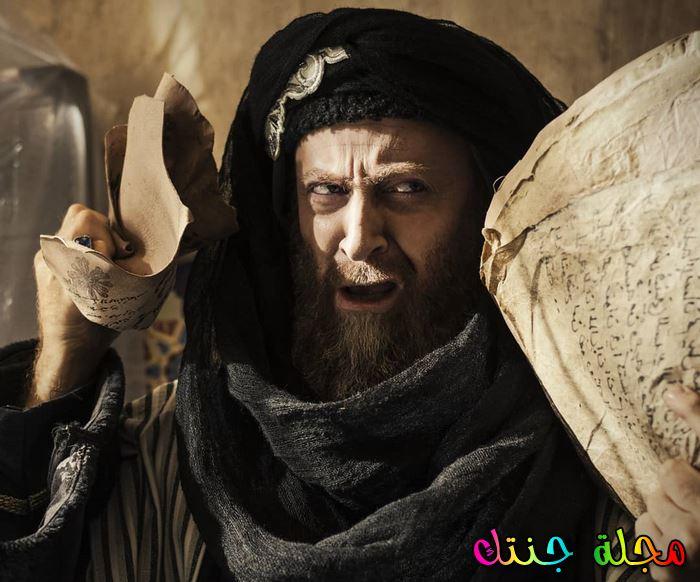 مصطفى الخاني خلال قيامه بدور حامد