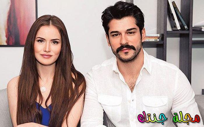 بوراك أوزجيفيت وزوجته
