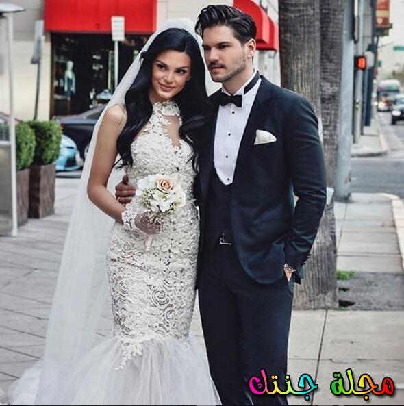 صور من زفاف تولجهان سايشمان