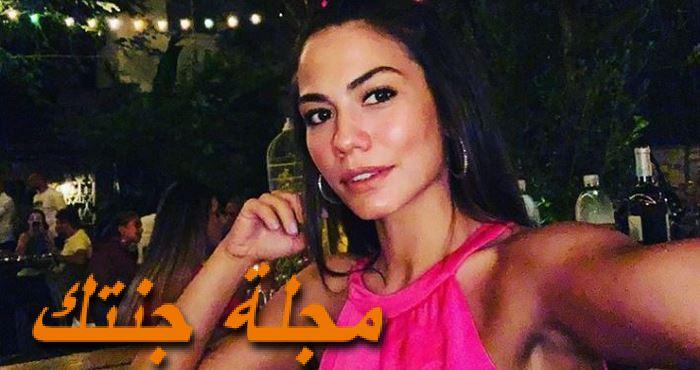ديميت أوزدمير بطلة المسلسل التركي منزلي