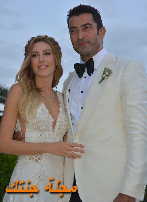 كنان اميرزالي اوغلو من حفلة زفافه