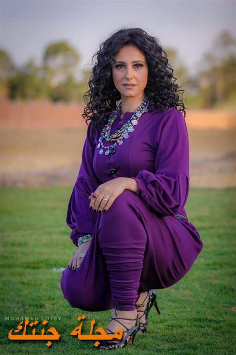 الممثلة حنان مطاوع