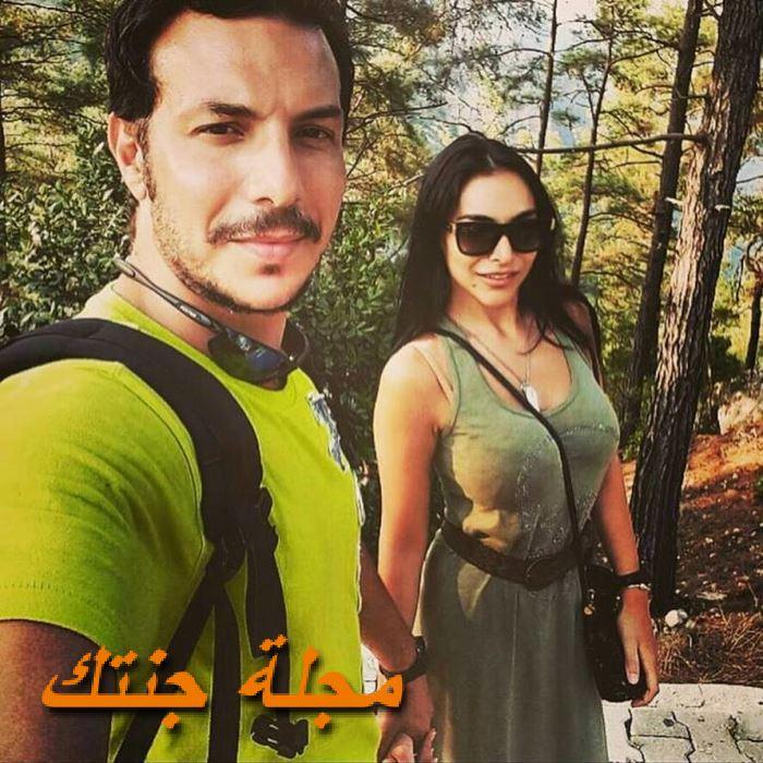 باسل خياط وزوجته ناهد زيدان