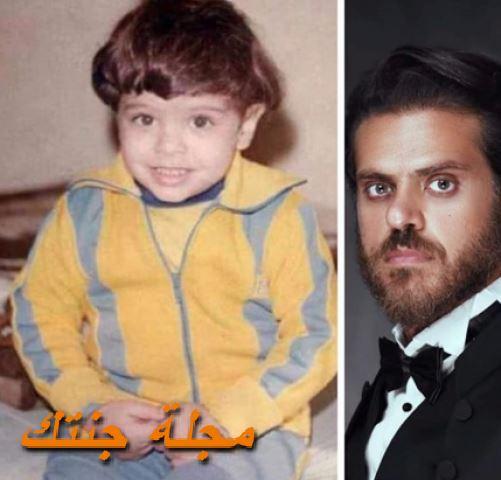 طارق صبري وهو صغير