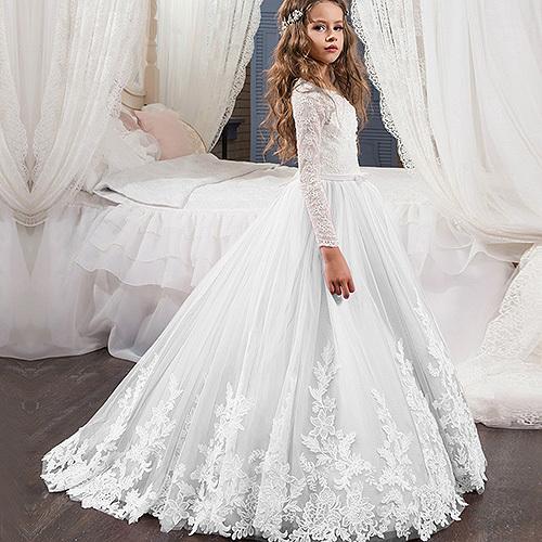 فستان أطفال شتوي جميل ورائع