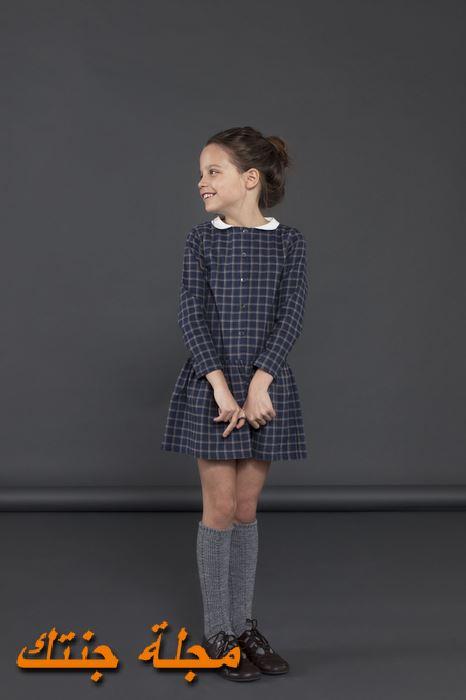 فستان أطفال شتوي جميل