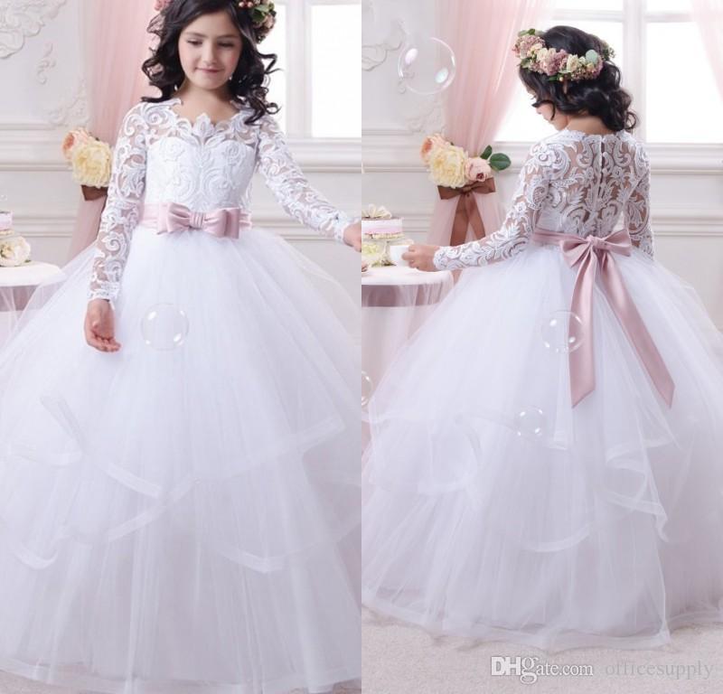 فستان أطفال شتوي للزفافا في منتهى الجمال والشياكة
