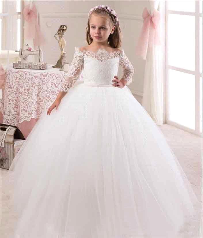 فستان أطفال للزفاف مناسب للشتاء