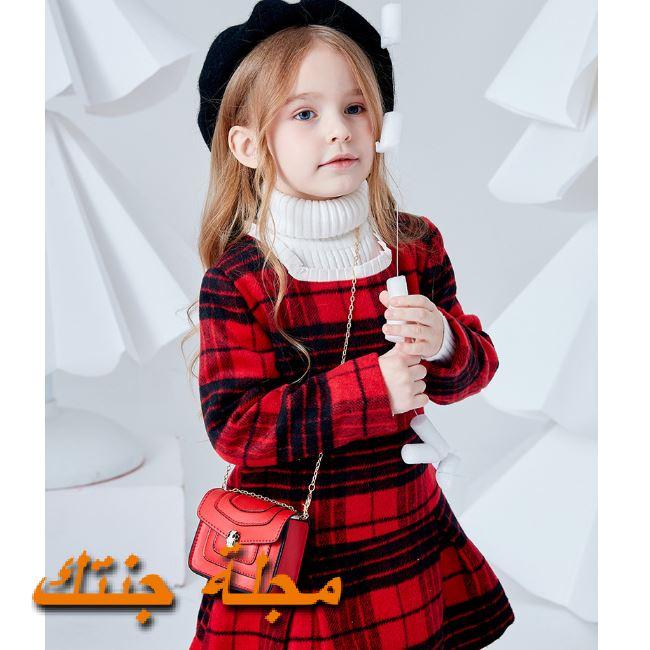فستان أطفال للشتاء أنيق وجميل