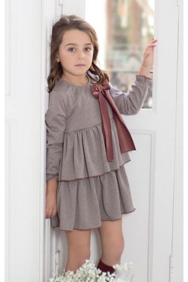 فستان أطفال للشتاء موديل 2020 جميل جداً