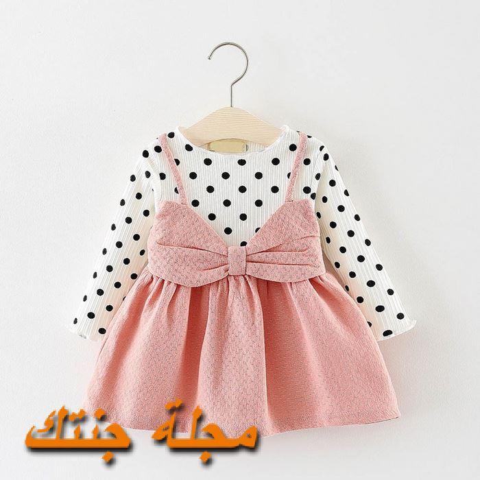 فستان حديثي الولادة شتوي تركي جديد 2020